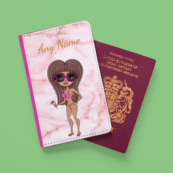 ClaireaBella Marble Effect Passport Cover - Image 7