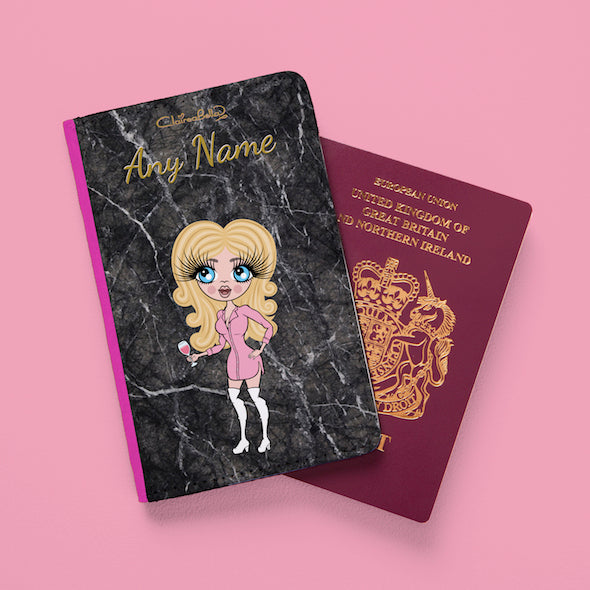 ClaireaBella Marble Effect Passport Cover - Image 2