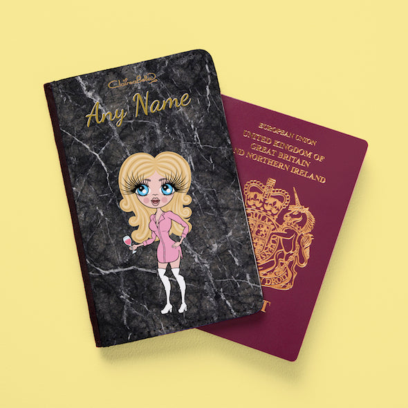 ClaireaBella Marble Effect Passport Cover - Image 6