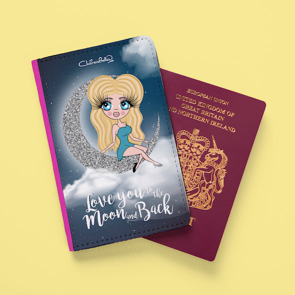 ClaireaBella Love You To The Moon Passport Cover - Image 2
