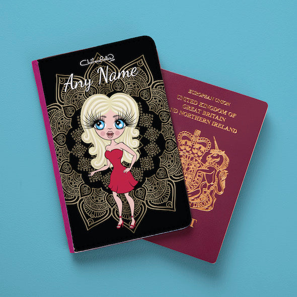 ClaireaBella Vintage Lace Passport Cover - Image 1