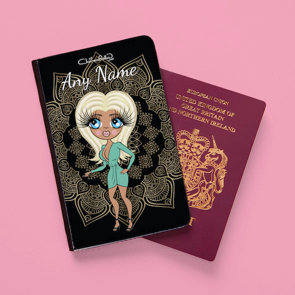 ClaireaBella Vintage Lace Passport Cover - Image 2