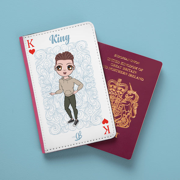 MrCB King of Hearts Passport Cover - Image 1