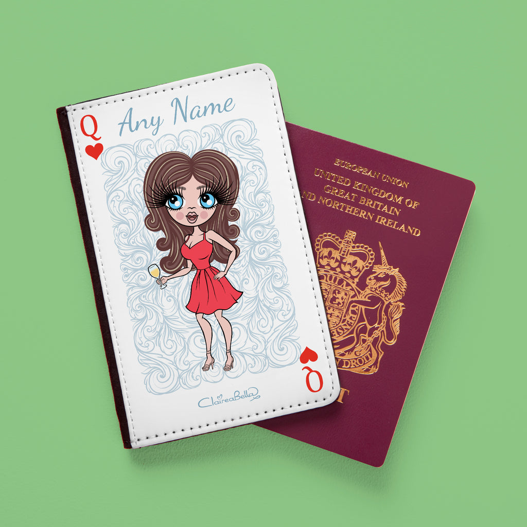 ClaireaBella Queen of Hearts Passport Cover - Image 2
