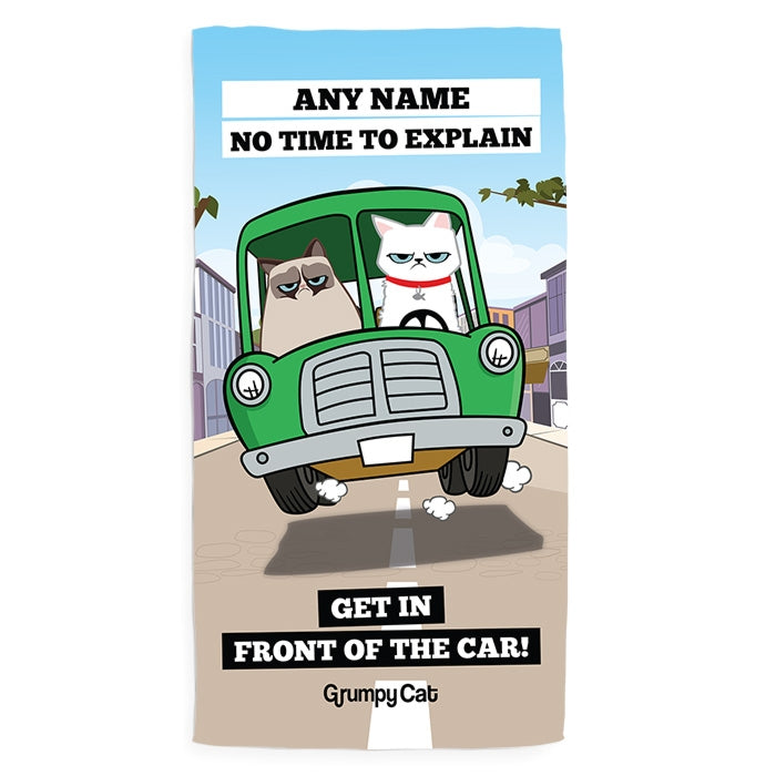 Grumpy Cat Car Pet Towel - Image 4