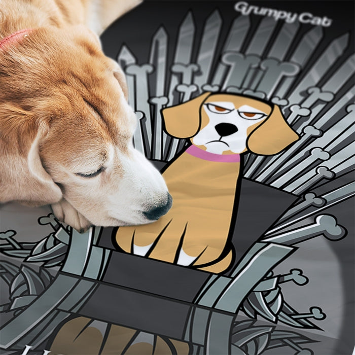 Grumpy Cat Throne Of Bones Pet Towel - Image 4
