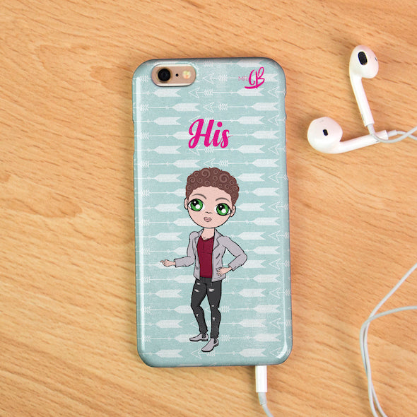 MrCB Personalised Cupid's Arrow Phone Case - Image 1