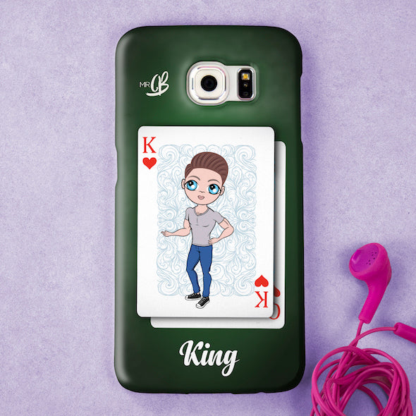 MrCB Personalised King Of Hearts Phone Case - Image 3