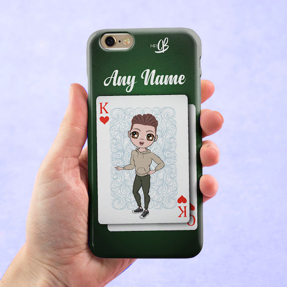 MrCB Personalised King Of Hearts Phone Case - Image 2