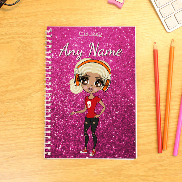 ClaireaBella Glitter Effect A5 Softback Diary - Image 1