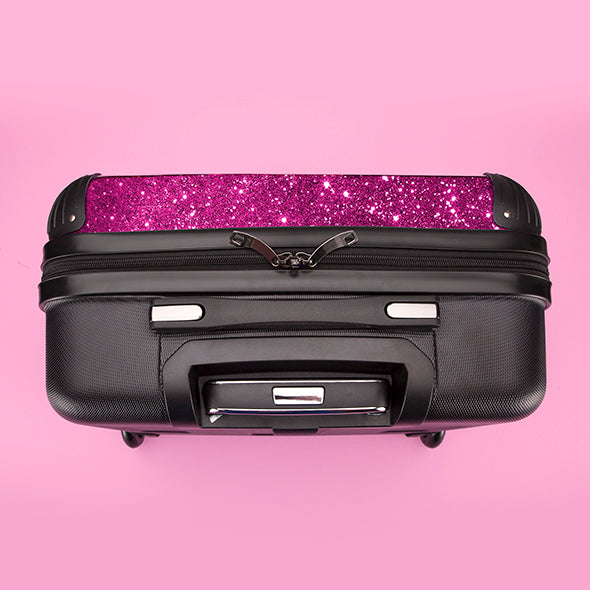 ClaireaBella Glitter Effect Weekend Suitcase - Image 8
