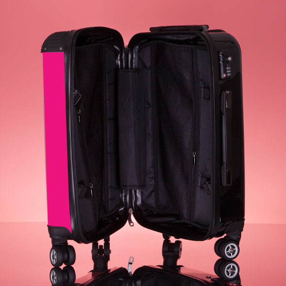 ClaireaBella Girls Hot Pink Suitcase - Image 9