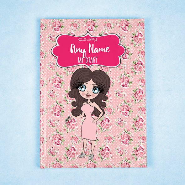 ClaireaBella A5 Hardback Diary - Pink Rose - Image 1