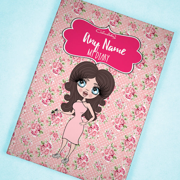 ClaireaBella A5 Hardback Diary - Pink Rose - Image 6