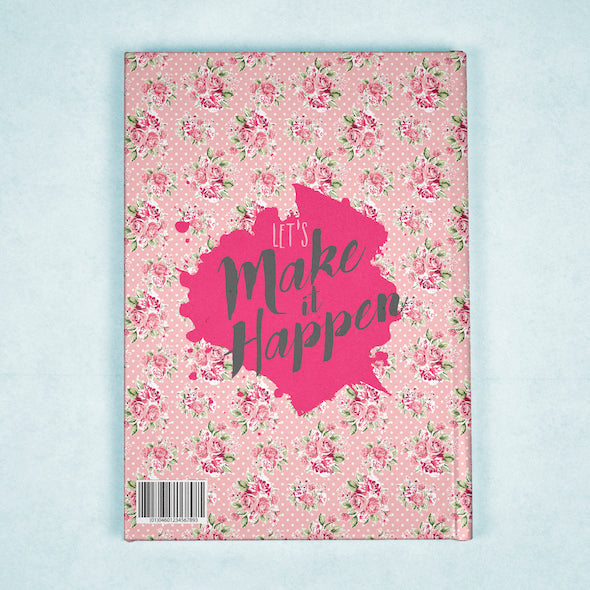ClaireaBella A5 Hardback Diary - Pink Rose - Image 7