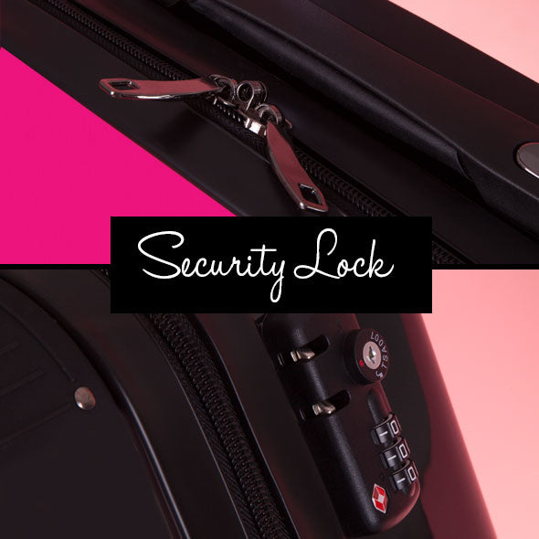 ClaireaBella Girls Hot Pink Suitcase - Image 8