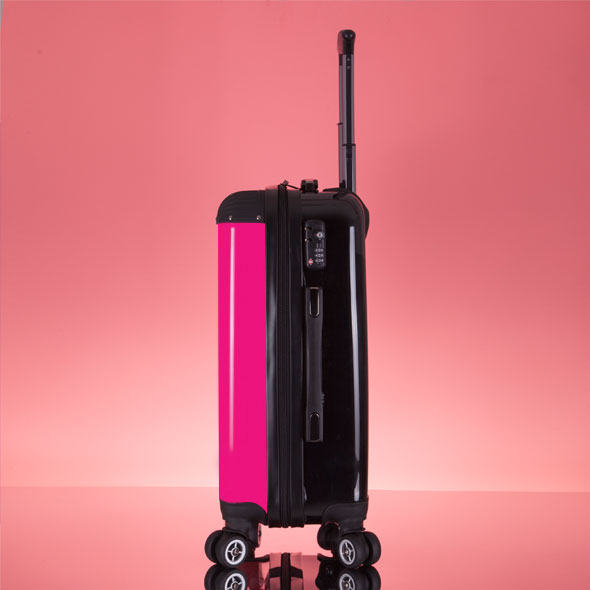 ClaireaBella Girls Hot Pink Suitcase - Image 7