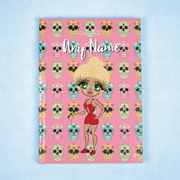 ClaireaBella A5 Hardback Diary - Skulls - Image 7