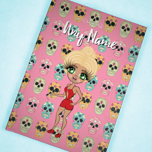 ClaireaBella A5 Hardback Diary - Skulls - Image 8