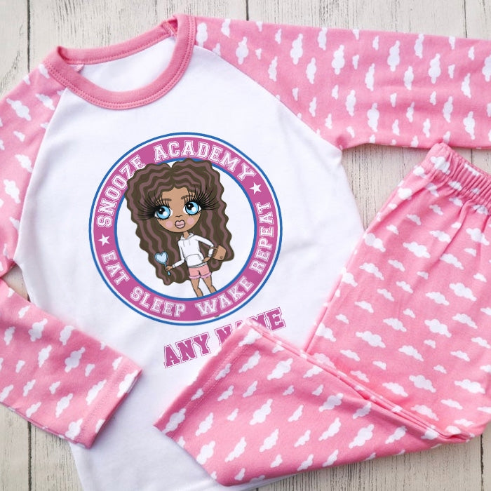 ClaireaBella Girls Snooze Academy Pyjamas - Image 1