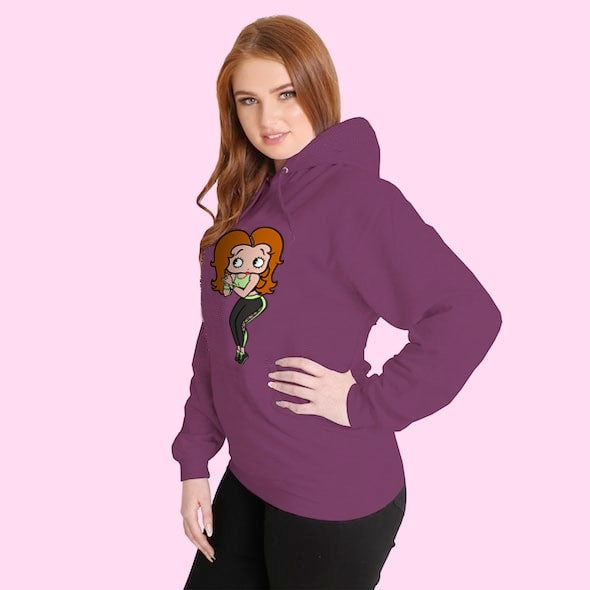 Betty Boop Personalised Hoodie - Image 5