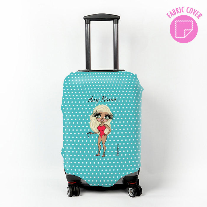 ClaireaBella Polka Dot Suitcase Cover
