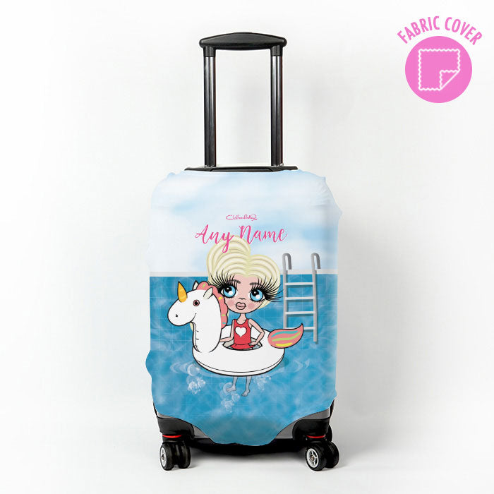 ClaireaBella Girls Unicorn Suitcase Cover