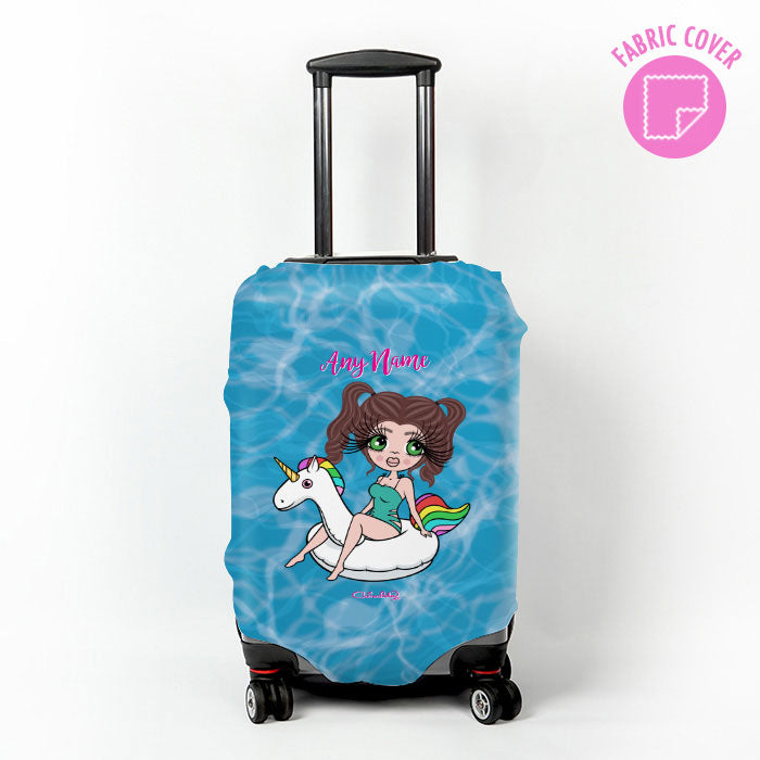 ClaireaBella Pool Side Suitcase Cover