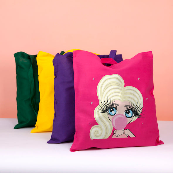 ClaireaBella Emoji Colour Pop Canvas Bag - Image 1