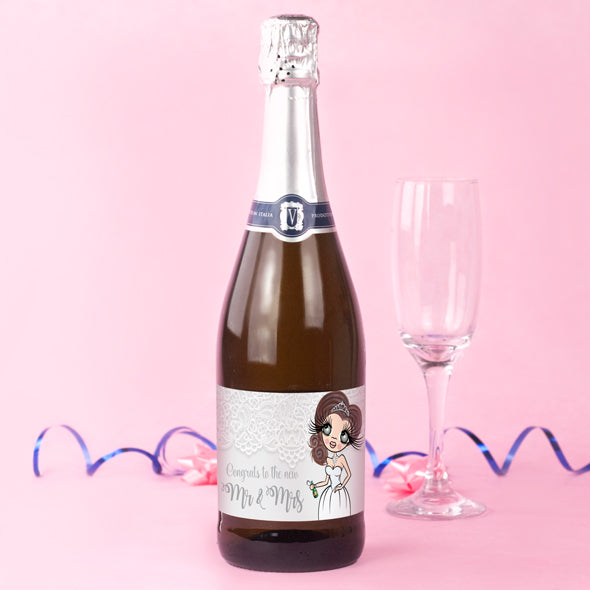 ClaireaBella Personalised Prosecco - Mr & Mrs - Image 1