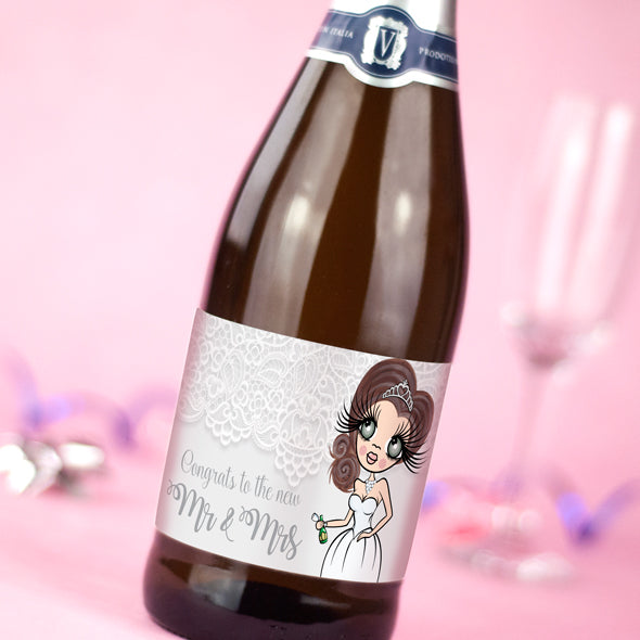 ClaireaBella Personalised Prosecco - Mr & Mrs - Image 2