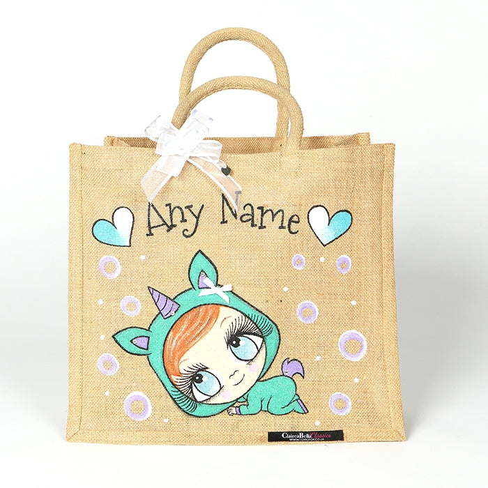 Early Years Sleepy Newborn Large Jute Bag - Image 1