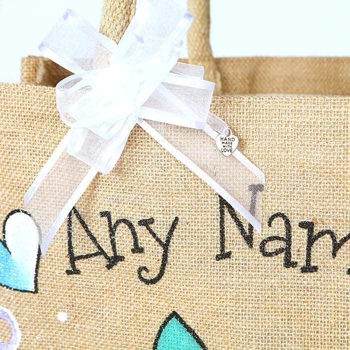 Early Years Sleepy Newborn Large Jute Bag - Image 2