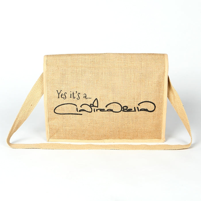 Early Years Newborn Jute Satchel Bag - Image 5