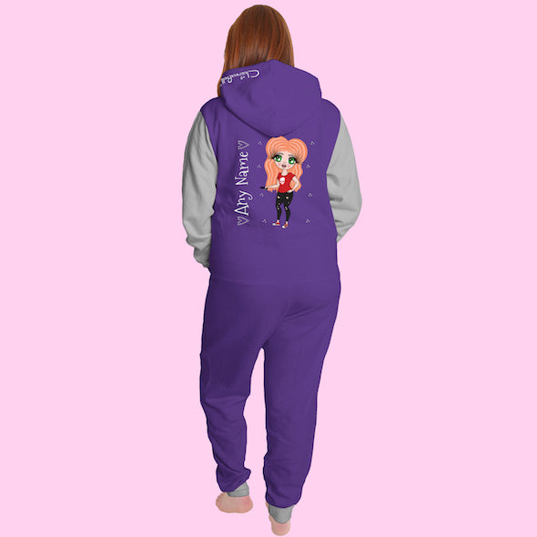 ClaireaBella Adult Contrast Onesie - Image 9
