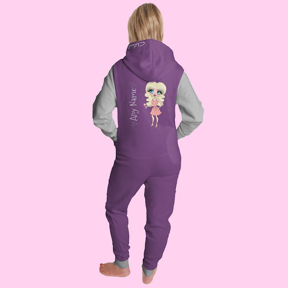 ClaireaBella Adult Contrast Onesie - Image 3