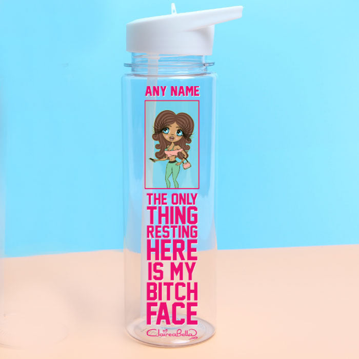ClaireaBella Resting Face Water Bottle