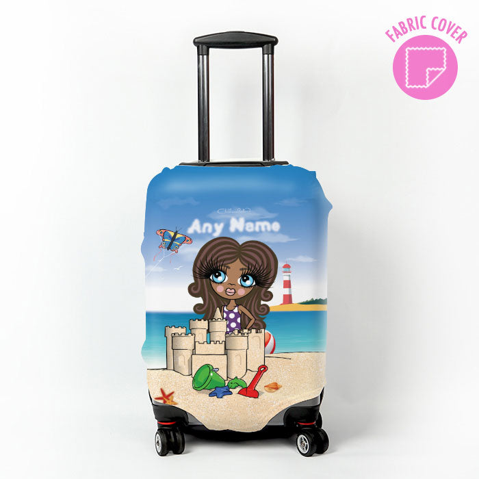 ClaireaBella Girls Suncastle Fun Suitcase Cover