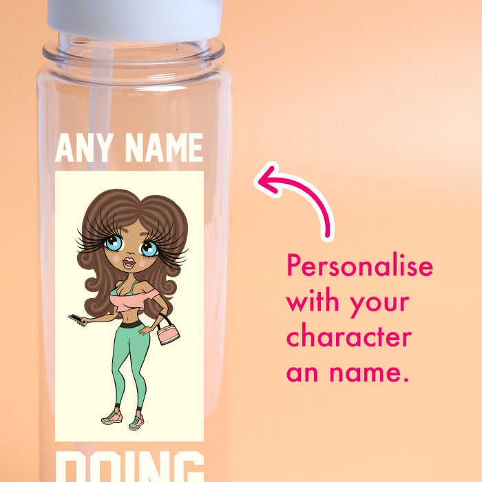 ClaireaBella Sass Squats Water Bottle