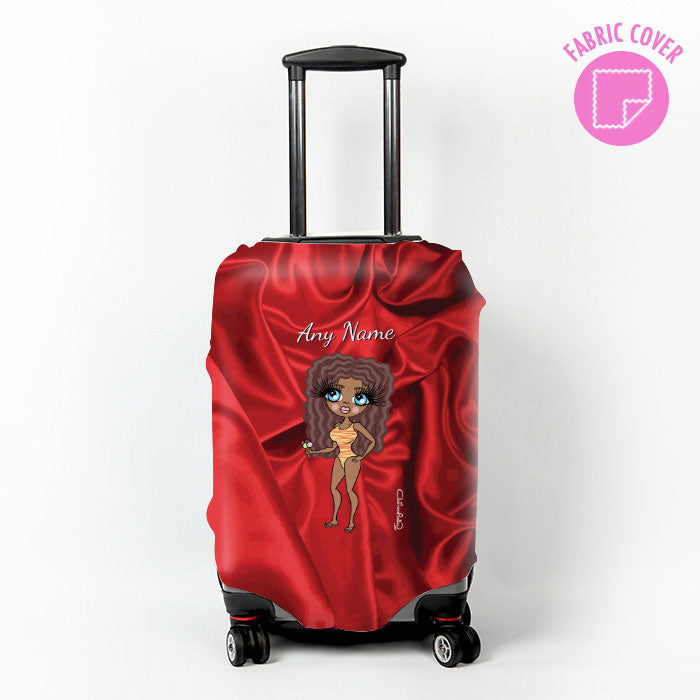 ClaireaBella Silk Satin Effect Suitcase Cover