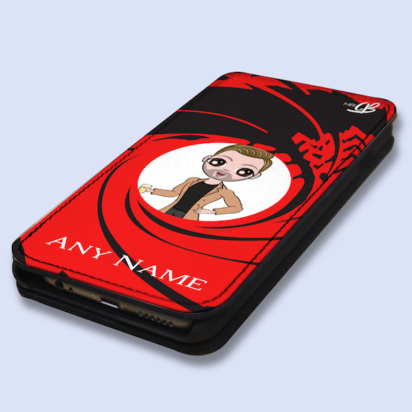 MrCB Personalised Secret Agent Flip Phone Case - Image 2