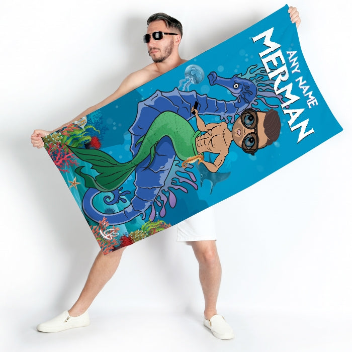 MrCB Merman Beach Towel - Image 1