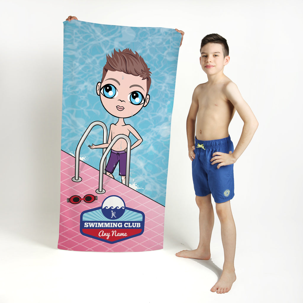 Jnr Boys Poolside Swimming Towel