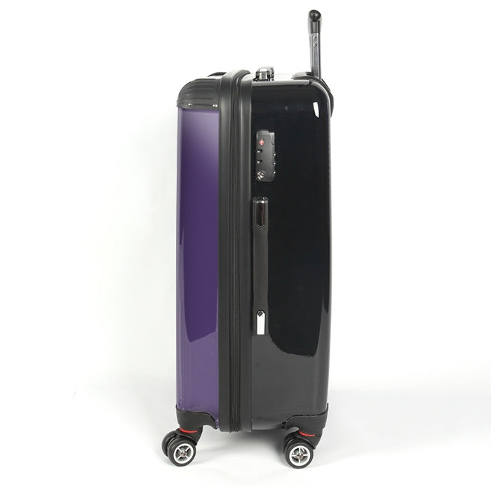 Johnny Bravo Guys Bold Purple Suitcase - Image 2