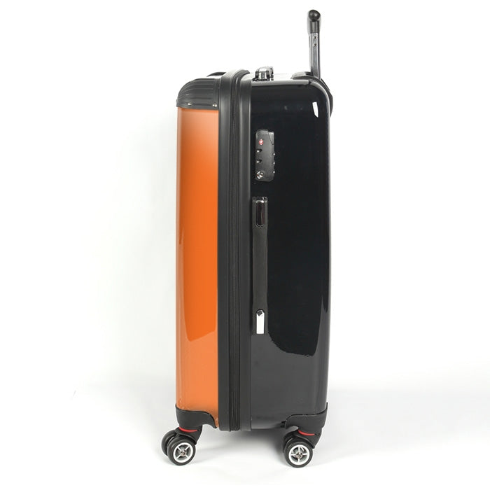 Johnny Bravo Guys Bold Orange Suitcase - Image 2