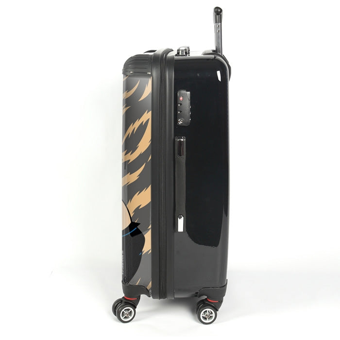 Johnny Bravo Guys Animal Print Suitcase - Image 2