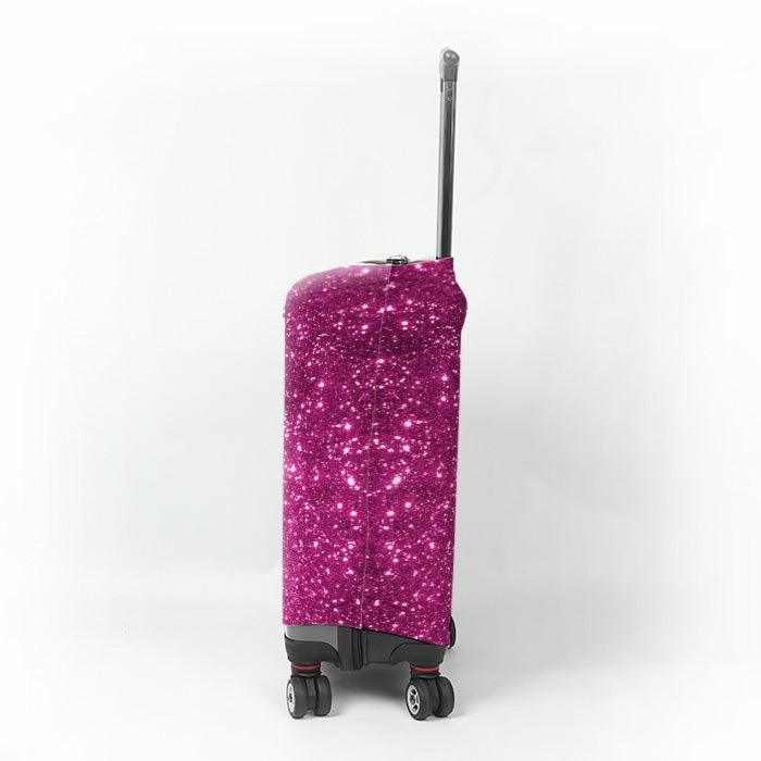 ClaireaBella Girls Glitter Effect Suitcase Cover - Image 2