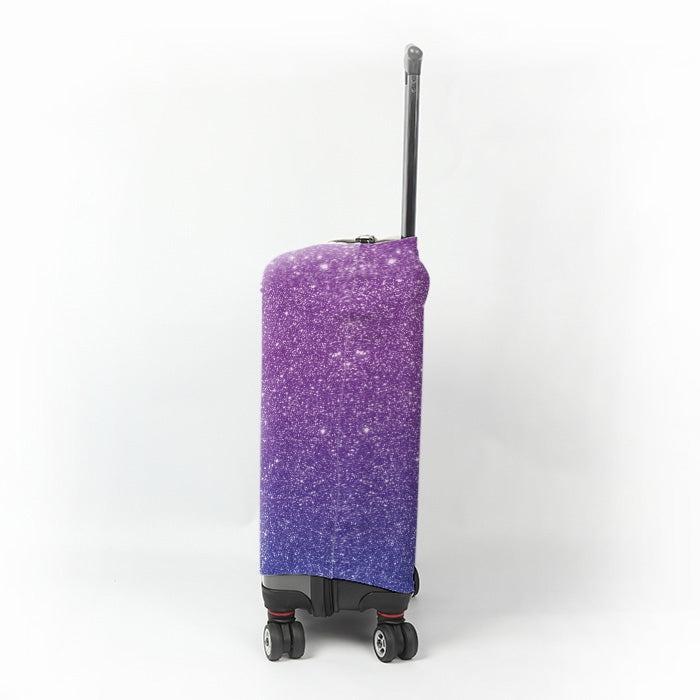 ClaireaBella Girls Ombre Glitter Effect Suitcase Cover - Image 2