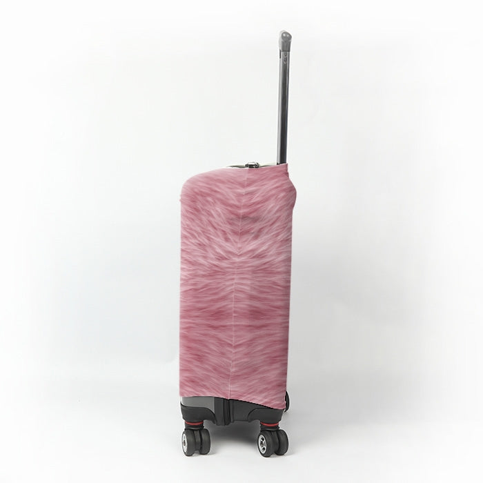 ClaireaBella Girls Fur Effect Suitcase Cover - Image 2