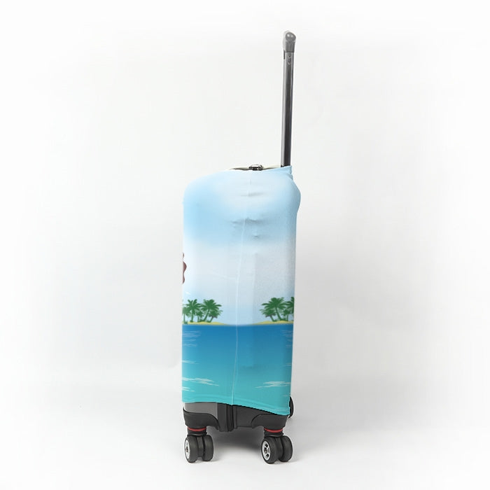 ClaireaBella Seaside Cocktails Suitcase Cover - Image 2